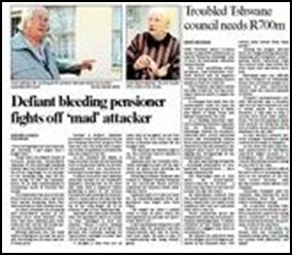 Saaiman Anna-Marie attacked Pretoria North smallholding Aug 20 2009