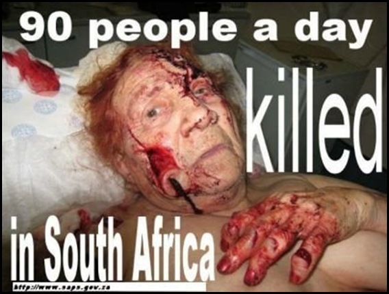 Afrikaner Crime Victim who was lucky - she survived