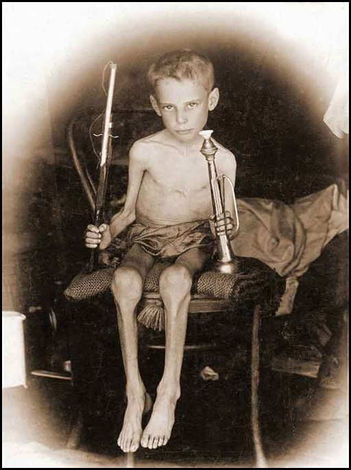 Boer Child Abraham Carel Wessel Bloemfontein concentration camp hungry but survived