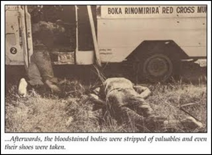 Elim Massacre Victim4 June231978 By Mugabe's Patriotic Front