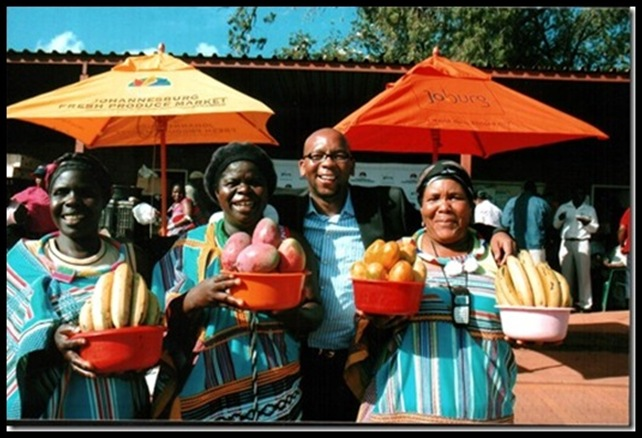 The bounty at Johannesburg produce market is drying up due to confiscation of Limpopo farms