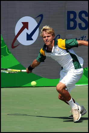 PUNE, INDIA. 15 October 2008. Commonwealth Youth Games. Hendrik Coertzen. Picture by WESSEL OOSTHUIZEN / GALLO IMAGES