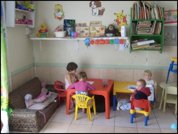 Lochvaal Afrikaner destitute kids playarea donated by Pretoria Voortrekker movement