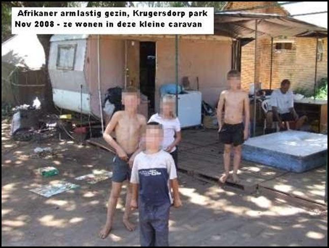 Afrikaner_Poor in caravan housing