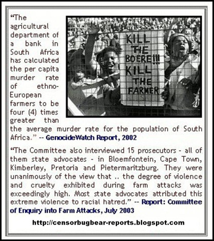 AFRIKANERS GENOCIDEWATCHREPORT 2002