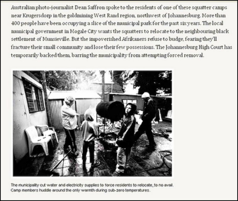 Afrikaner Poor AustralianPhotog Dean Saffron Report 1