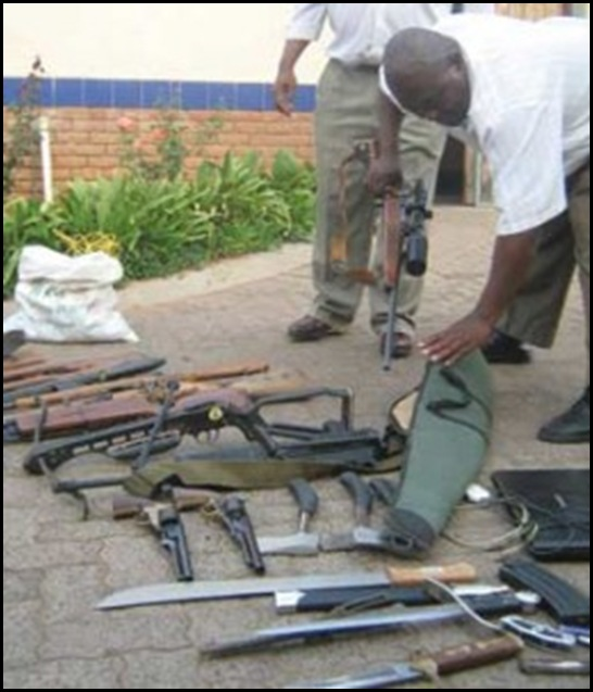 Ratte Weapons of Mass Destruction confiscated by police Sept302010 Balmoral farm