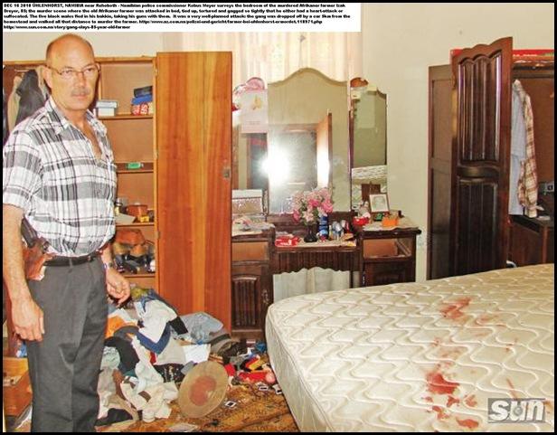 DREYER Izak 85 murdered Namibia farm Newlands Uhlenhorst SUN PICTURE