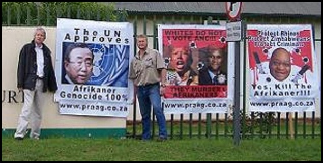 AFRIKANER GENOCIDE PROTEST PRAAG KOSTER LAW COURT DEC132010 MARTIE ERASMUS EXECUTION