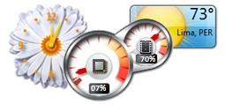 Gadgets for Windows Vista-7