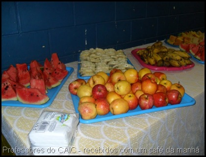 Jornada Pedagógica - Café da Manhã 2