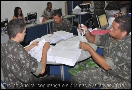 Avaliativas 2011 - 2