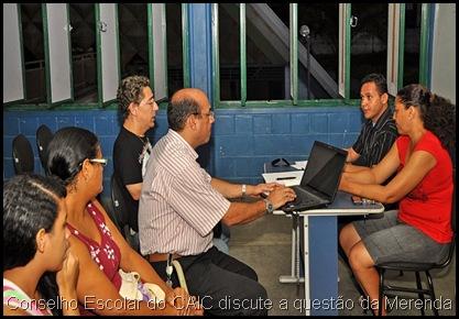 Reunião Conselho Escolar CAIC