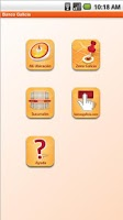 Screenshot of App Galicia (Version Anterior)