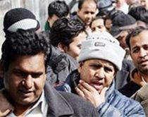bengalesi in corteo