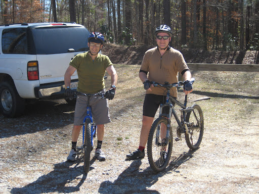 Bruce & Bill at Swayback after the ride.