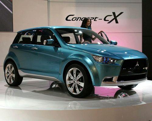 Mitsubishi Concept Cx autoalert