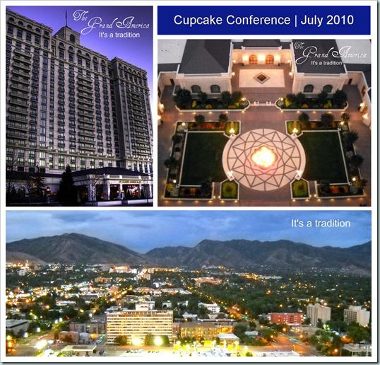 Cupcake Conf at Grand America