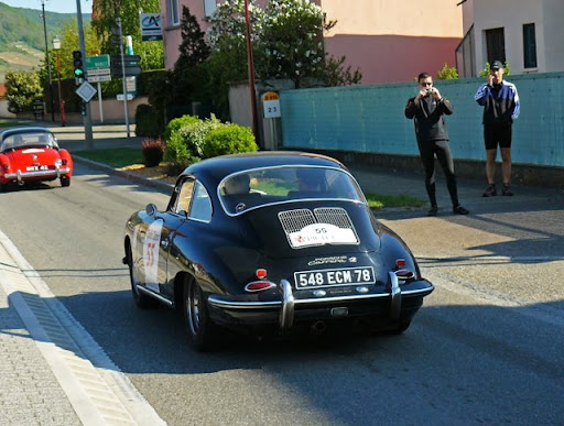 Porsche 356 Carrera 2. PORSCHE 356 B Carrera 2
