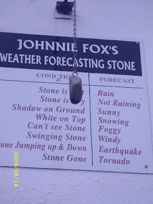kamień przepowiadający pogodę