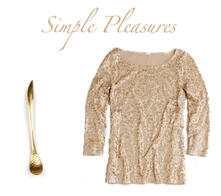 simplepleasures {simple pleasures: touch of gold}