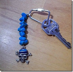 pirate keyring