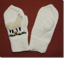 sheep gloves