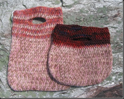 Free Crochet Purse Patterns Felted : Knitting Dragonflies: Scrappy Felted Bag Pattern, to Crochet
