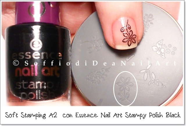 soft stamping essence black