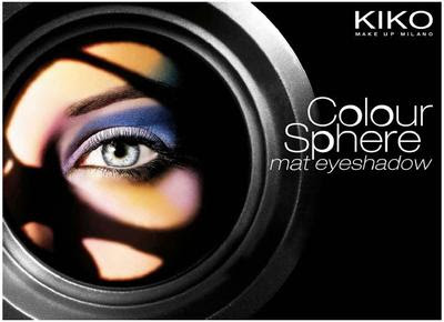Kiko Colour Sphere Duo Mat Eyeshadow