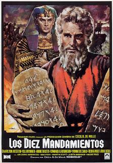 Poster de Los diez mandamientos