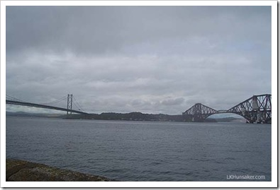 Forth Bridges, Edinburgh-LK Hunsaker