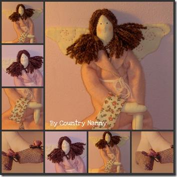 Tilda Bath Angel Collage