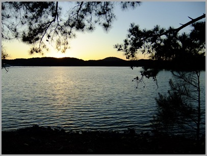 Sunset Ove Lake Allatoona