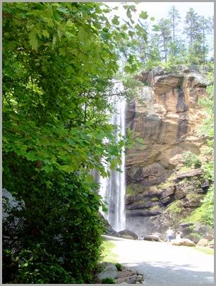Approaching Toccoa Falls