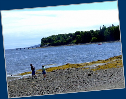 Beach at Searsport Town Dock