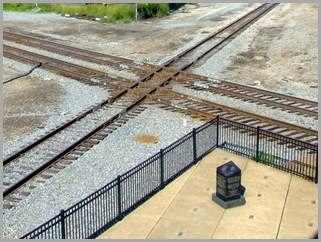 The Last Remaining Railroad Diamond in Durand