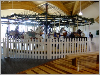 Merry-Go-'Round Inside The Mercantile