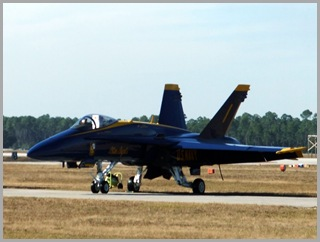 Blue Angels' F/A 18 Hornet