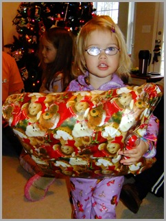 One Big Present For A Little Girl