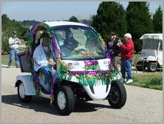 Fancy Golf Cart