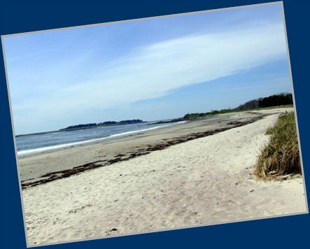 You Can See Why It's Named Crescent Beach