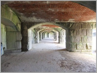 Passageway Inside The Fort