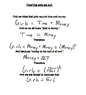 Girls ae evil