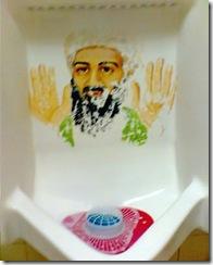 osama bin laden urinal