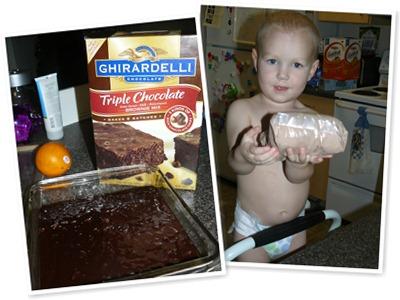 View brownies