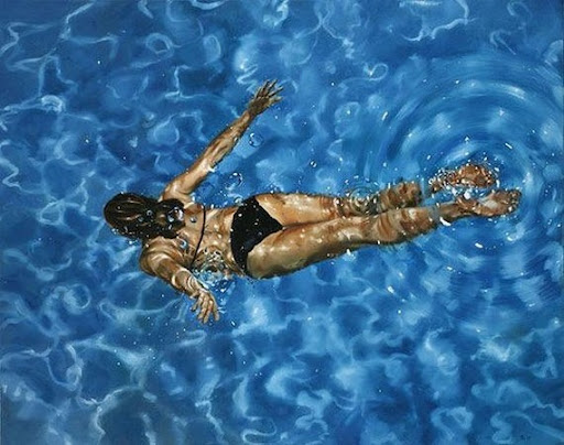 Photorealism Underwater Paintings by Eric Zener