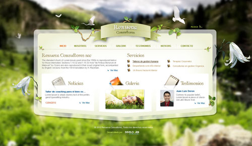 Spectacular Web Designs With Unique Layouts – 33 Examples