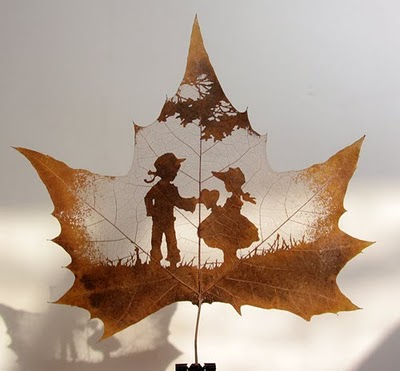 Amazing Examples of Leaf Carving Art