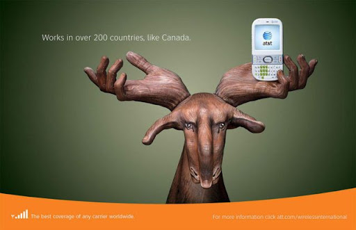Very Beautiful and Creative AT&T Advertising Campaign